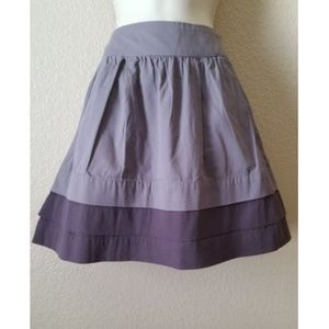 Old Navy Brown Tiered Short A-Line Skirt 2